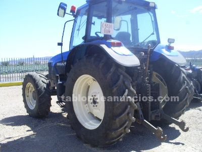 New holland tm 125 doble tracci�n y cabina.