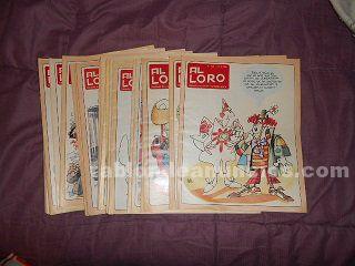Revistas satiricas antiguas al loro
