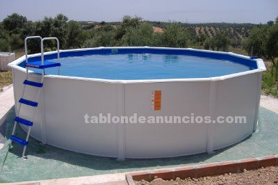 Tabl n de anuncios piscina portatil for Piscina portatil
