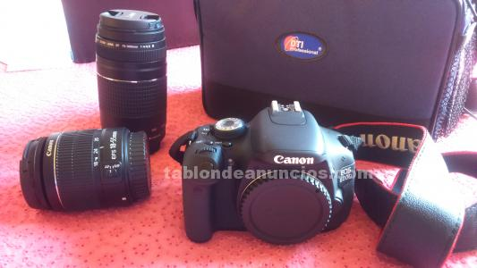 Canon 600d + 18-55mm + 75-350mm
