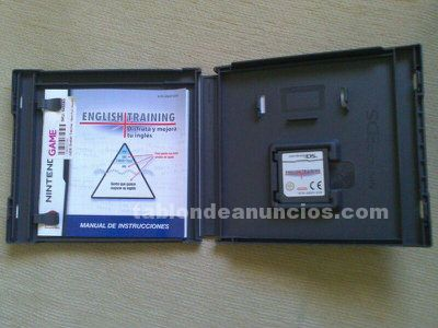 JUEGO NINTENDO DS ENGLISH TRAINING