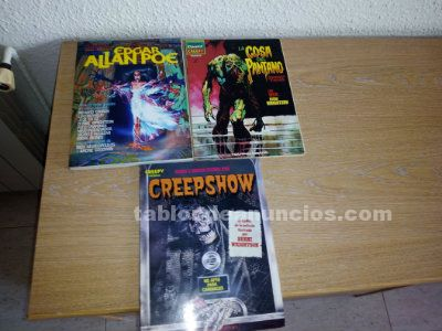 Vendo coleccion completa de comics creepy
