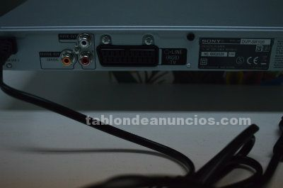 Reproductor de dvd sony
