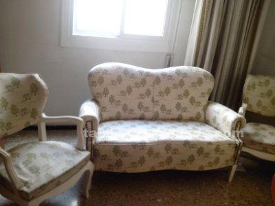 Vendo conjunto sofa y dos sillones