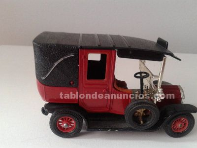 Coche metalico matchbox, unic taxi 1. 907. De coleccion. Impecable