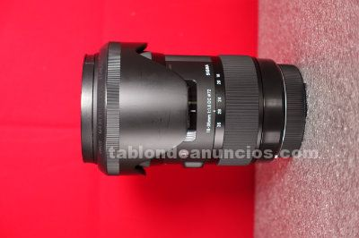 Vendo sigma 18-35 mm f1.8 dc hsm art