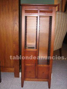 Tabl n de anuncios com telefonera porta cd clasica con for Muebles segunda mano badajoz