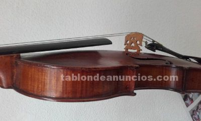 VIOLÍN MUY ANTIGUO. LUTHIER BRETON