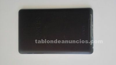 Tablet nexus 7 con funda inteligente