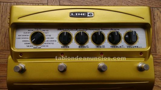 Multi pedal overdrive/distorsi�n line 6 dm4