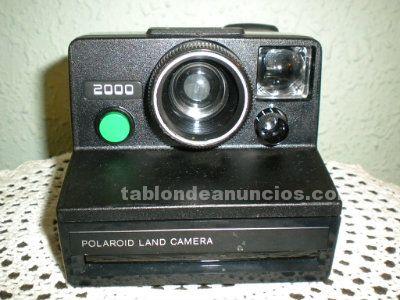Polaroid land 2000 antigua cámara de fotos