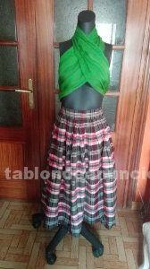 Falda de vestir seda