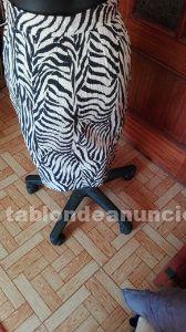 Falda de estampados yves saint laurent