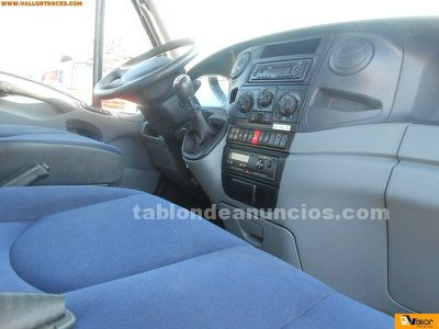 Chasis doble cabina iveco 65c18d