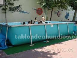 Vendo piscina lona rigida