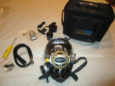 Buceo full face mask