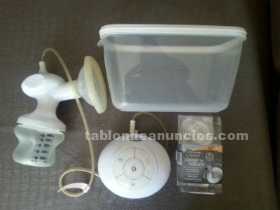 Extractor electrico portatil de leche materna tommee tippee