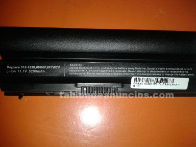 Bateria compatible portatil dell latitude