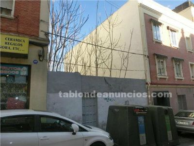 Se vende solar urbanizable en usera -madrid