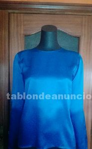 Perfecta camisa seda yves saint laurent