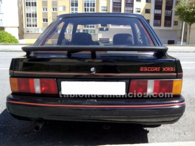 Se vende ford escort xr3i 1.6