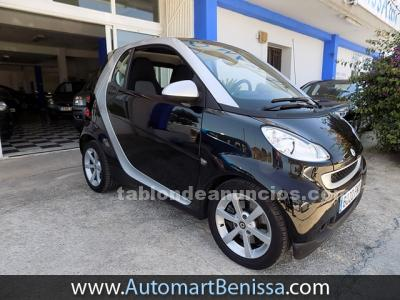 Smart fortwo coupe - automático - techo solar panorámico - profesional