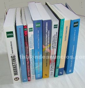 Pack libros uned turismo 1º curso.