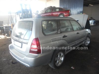 Despiece subaru forester