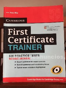 Libro texto first certificate trainer
