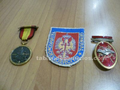 Medallas militares antiguas epoca franco