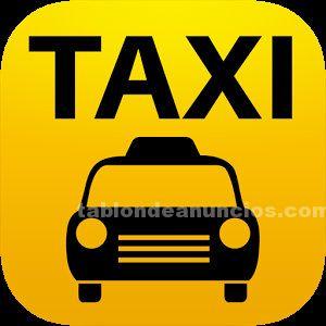 Se traspasa licencia de taxi en llan�� (costa brava).