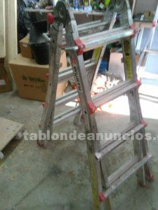 Escalera extensible wurth aluminio