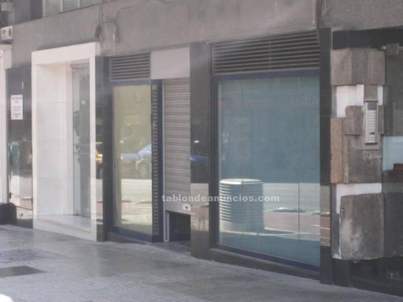 Local comercial tiene una superficie de 475 m2