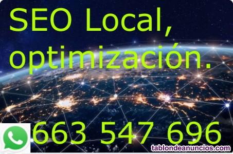 Asesor seo (search engine optmization), posicionamiento web.