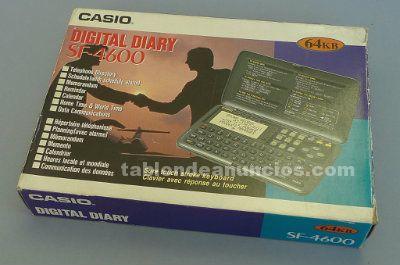 Diario digital casio sf-4600