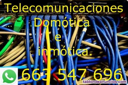 Telecomunicaciones, instalaciones redes, voz, datos.