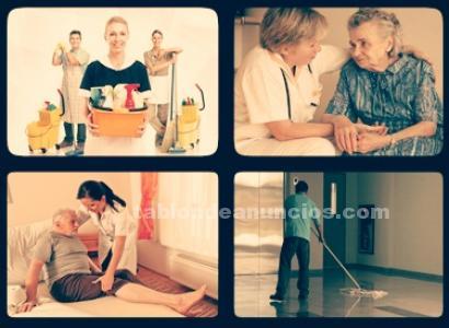 Limpieza y atenci�n a personas