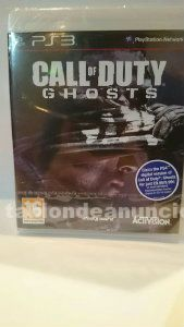 Call of duty ghosts nuevo ps3