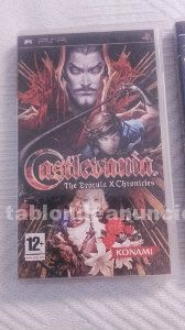 Castlevania: the dracula x chronicles.