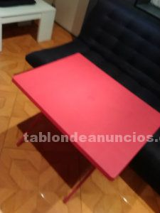 Vendo mesa pl�stico plegable