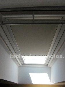 Cortinas ventanas de tejado