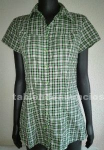 Camisa vestido de cuadros
