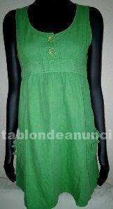 Original vestido lino de verano