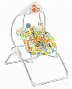 COLUMPIO HAMACA FISHER PRICE 2 EN 1