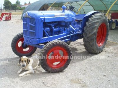 Tractor ebro super 55 documentado