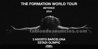 Beyonce - the formation world tour 03/08 barcelona