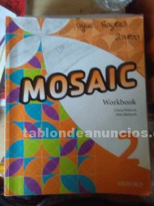 Libro ingles 2º eso mosaic ( student's book y workbook )