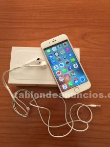 Iphone 6, 64 gigas, color oro