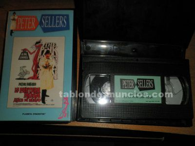 Peter sellers, colección vhs.