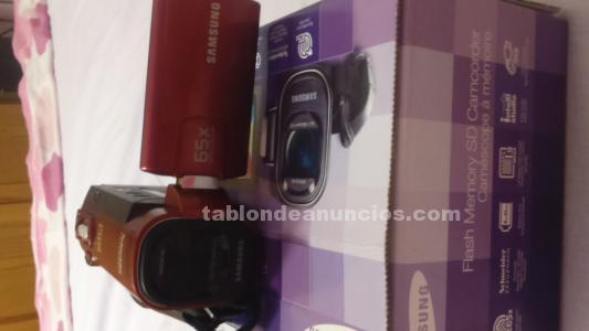 CAMARA DE VIDEO SAMSUNG EN PERFECTO ESTADO